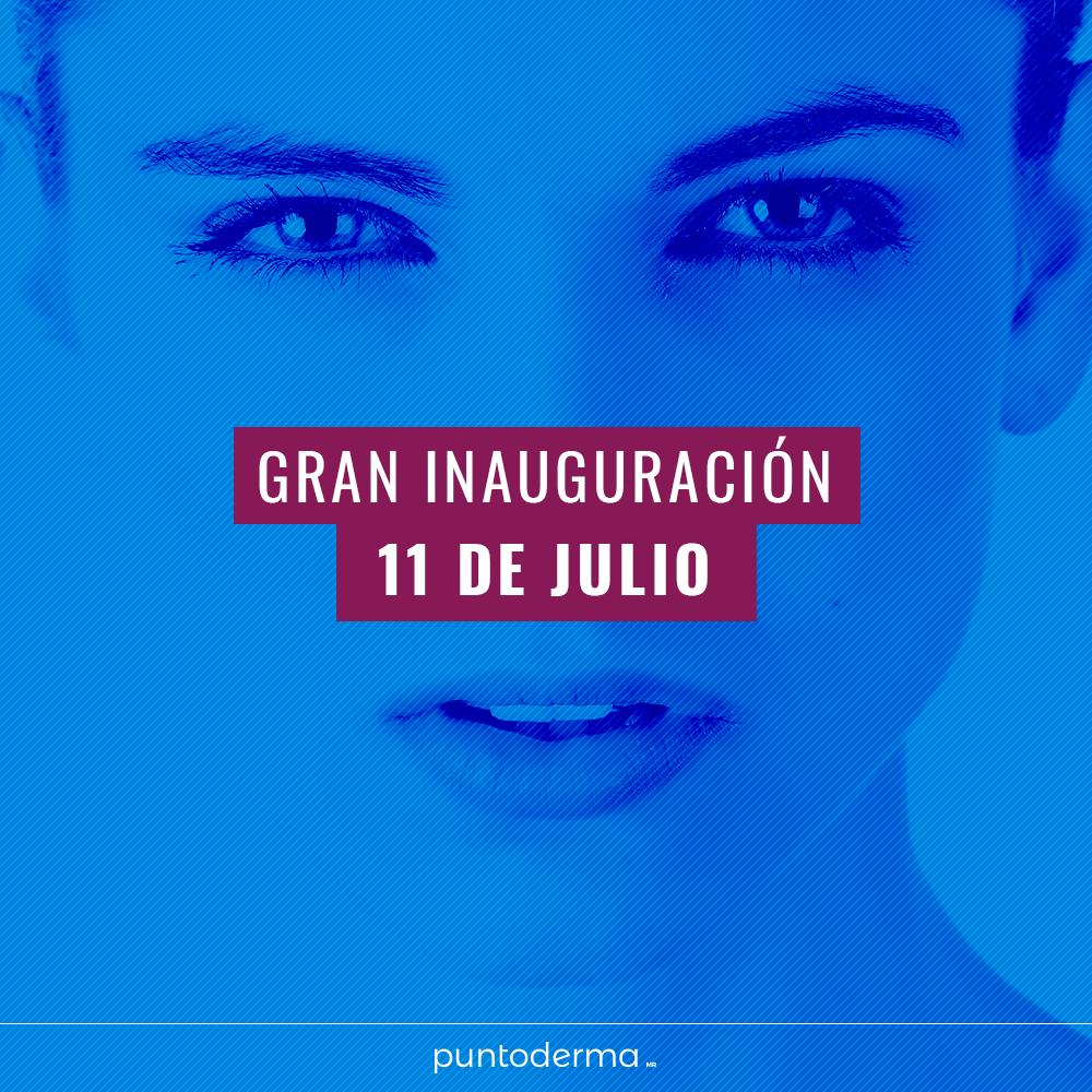 Gran inauguracion 11 de julio