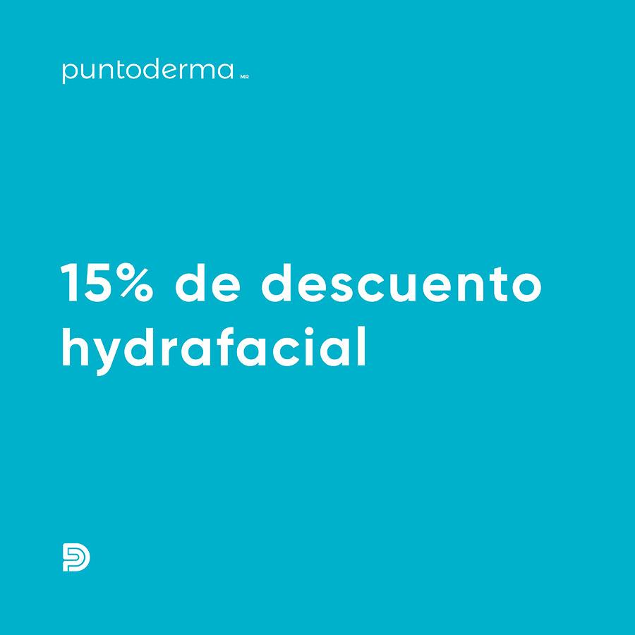 15% de Descuento Hydrafacial